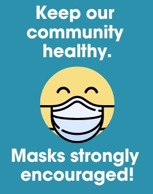 Health Mask Sandwich Board