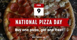 Pizza Facebook Post
