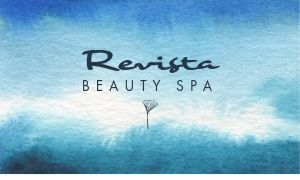 Revitalizing Spa Business Card