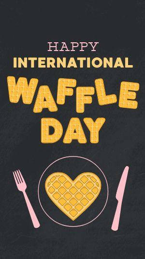 Waffle IG Story