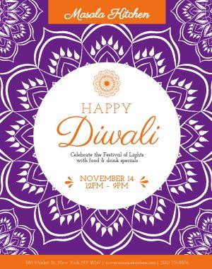 Diwali Festival Poster