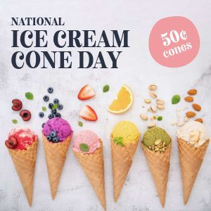 Ice Cream Instagram Update