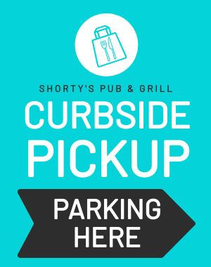 Curbside Pickup Street Sign