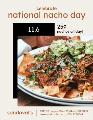 Nacho Deals Flyer