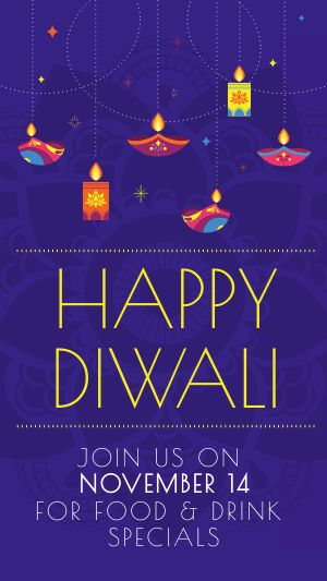 Diwali Lights Instagram Story