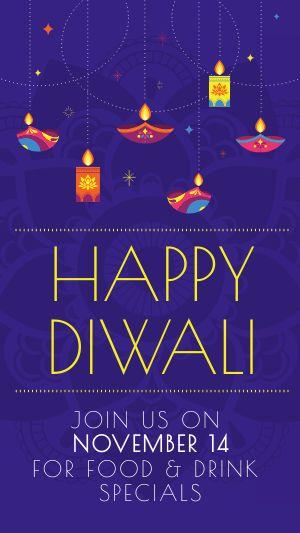 Diwali Lights Instagram Story