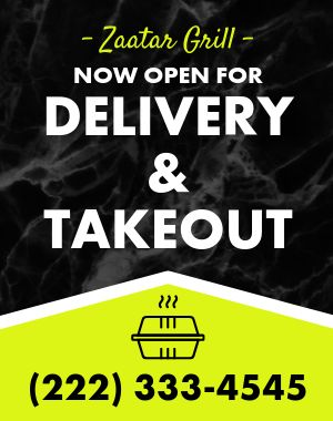 Takeout Poster