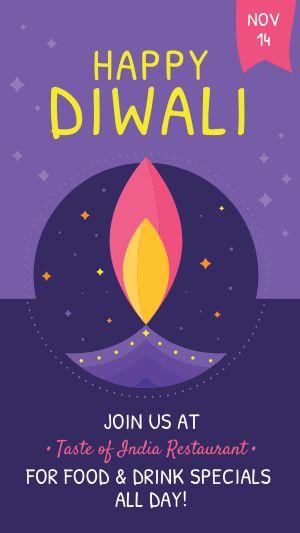 Diwali Specials Instagram Story