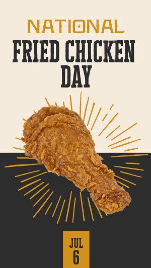 Fried Chicken Facebook Story