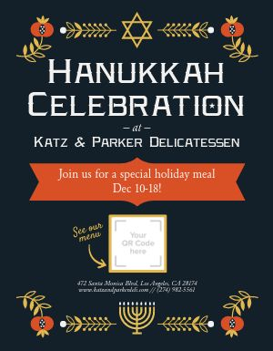 Hanukkah Celebration Flyer