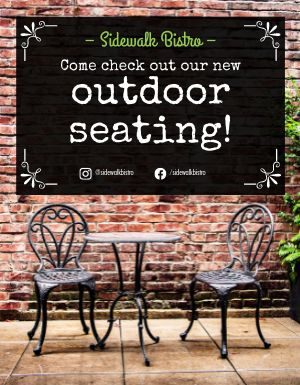 New Seating Flyer
