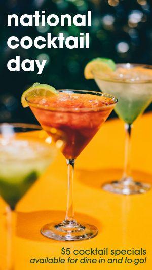 Cocktails Instagram Story
