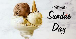 National Sundae Day FB Post