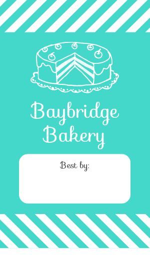 Bakery Date Label