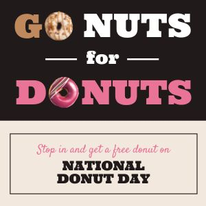 Donut Day Event Instagram Post