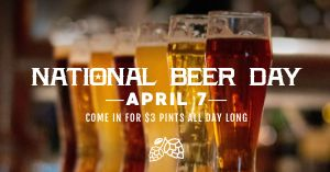 National Beer Facebook Post