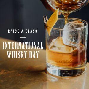 Whisky Instagram Post