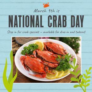 Crab Instagram Update