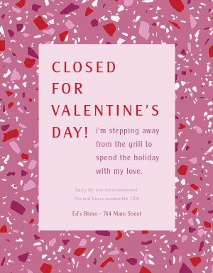 Valentines Closed Flyer