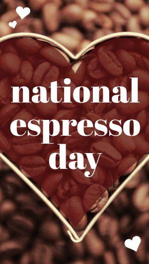 National Espresso Day FB Story