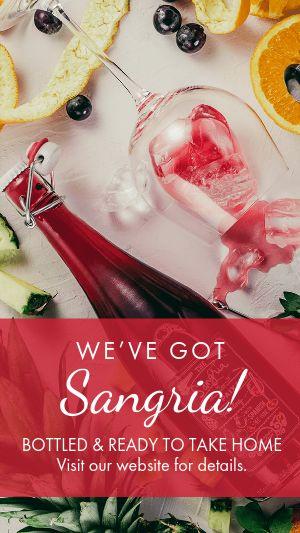 Sangria Wine Instagram Story