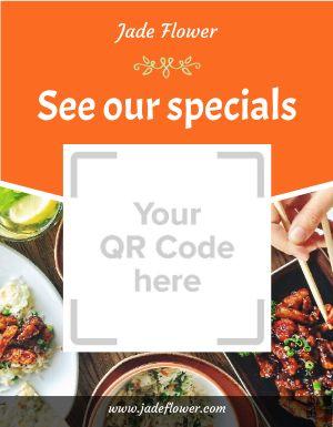 Specials QR Code Flyer