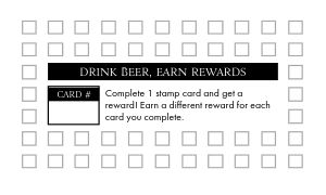 Beer Stein Loyalty Card
