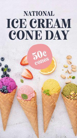 Ice Cream Facebook Story