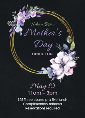 Mothers Day Luncheon Tabletop Insert