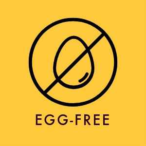 Egg Free Sticker
