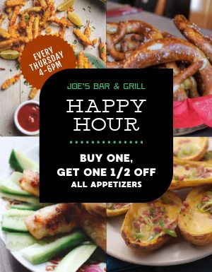 Happy Hour Promo