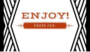 Order Label