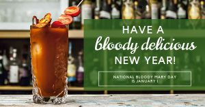 Bloody Mary Day Facebook Post