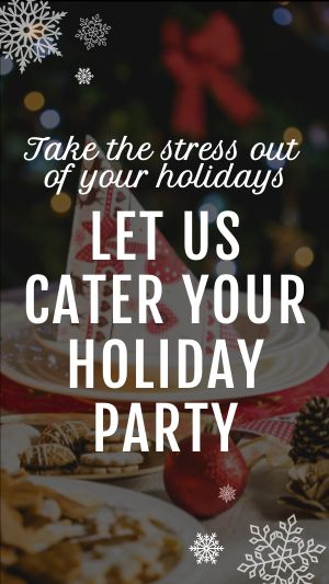 Holiday Party Facebook Story