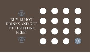 Hot Coffee Loyalty Card
