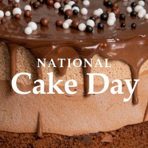 National Cake Day Instagram Post