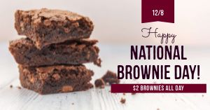 Brownie Day Facebook Post