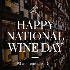 Wine Day Instagram Update