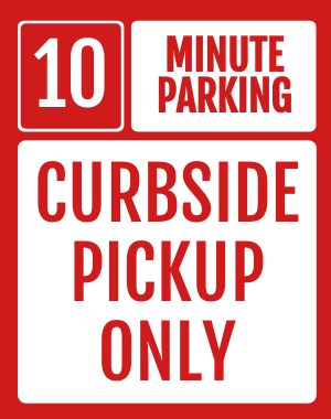 Curbside Street Sign