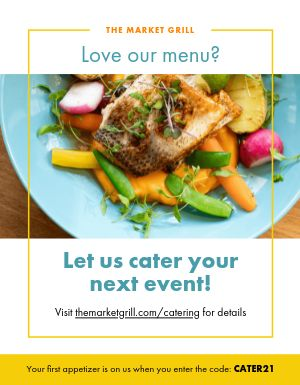 Catering Event Flyer