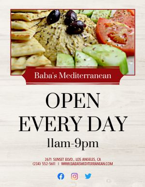 Open Everyday Flyer