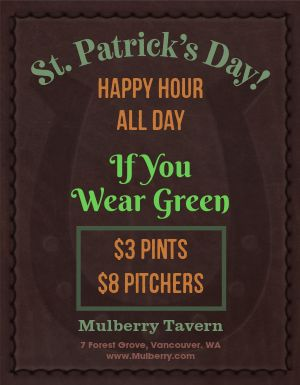 St Patricks Irish Flyer