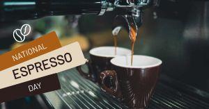 National Espresso Day Facebook Post