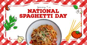 Spaghetti Day Facebook Update