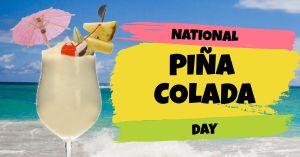 Pina Colada Facebook Post