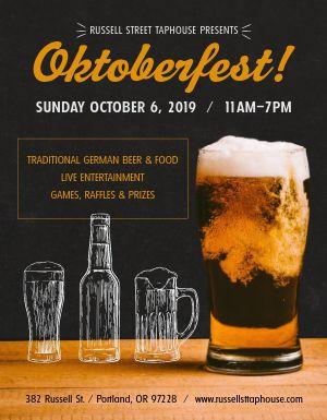 Oktoberfest Ale Flyer