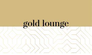 Gold Bartender Business Card
