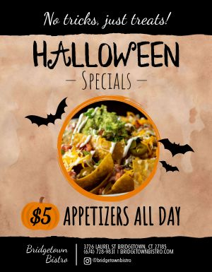 Halloween Specials Handout