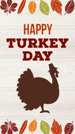 Turkey Day Instagram Story