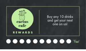 Cafe Punch Card